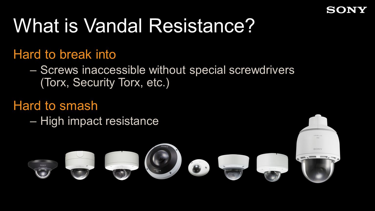 What is Vandal Resistance.