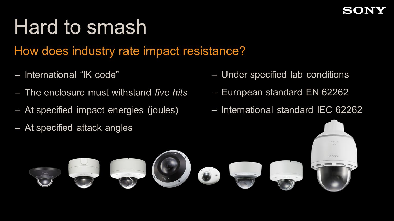 Hard to smash How does industry rate impact resistance.