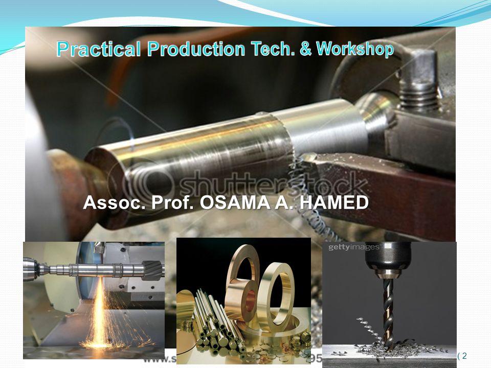 2 ) ) Assoc. Prof. OSAMA A. HAMED