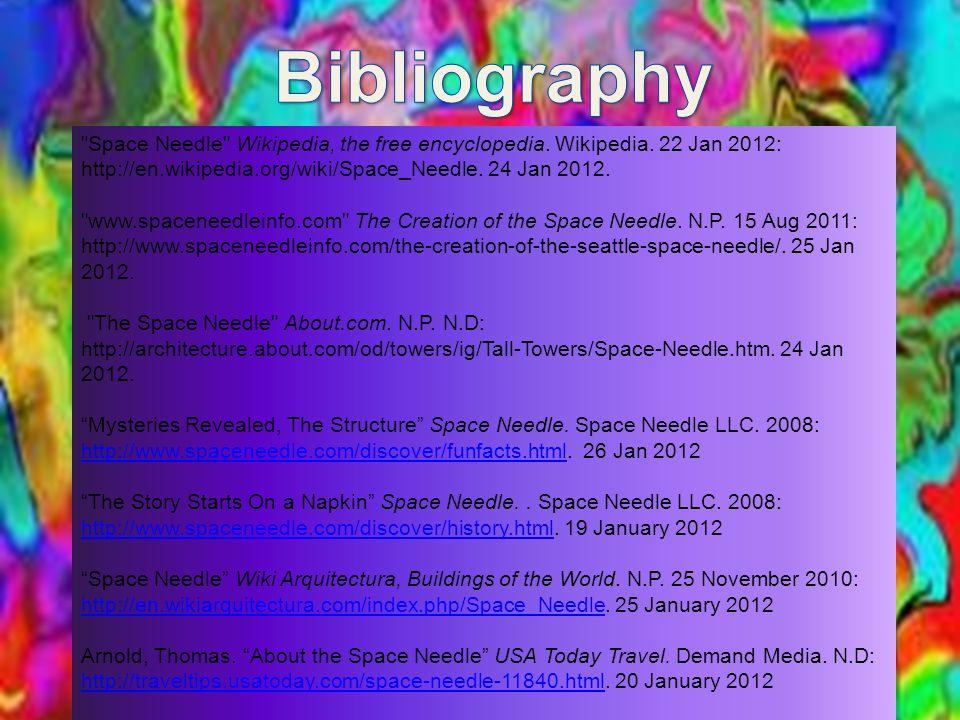 Space Needle Wikipedia, the free encyclopedia. Wikipedia.