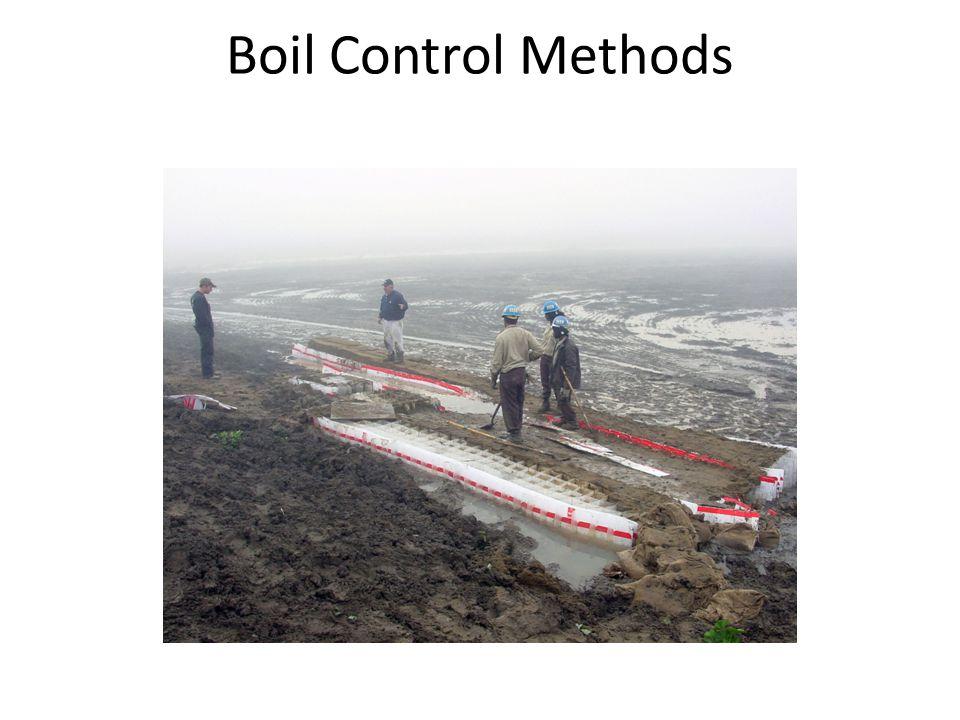 Boil Control Methods