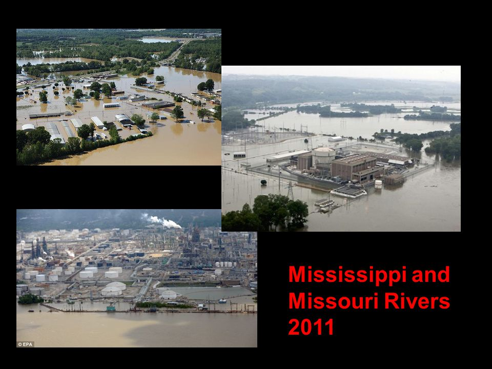 Mississippi and Missouri Rivers 2011