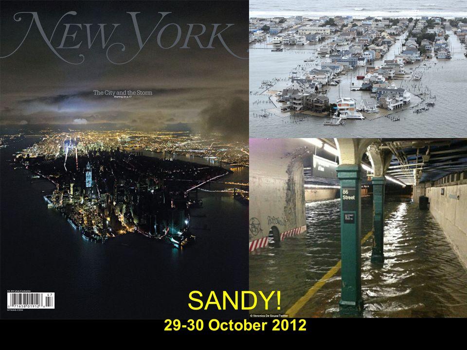 SANDY! 29-30 October 2012