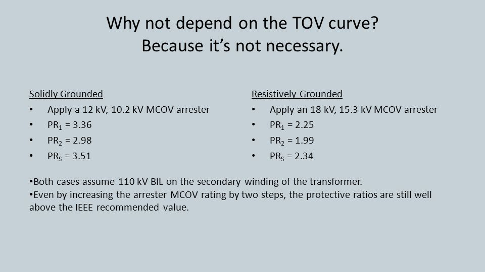 Why not depend on the TOV curve. Because it's not necessary.