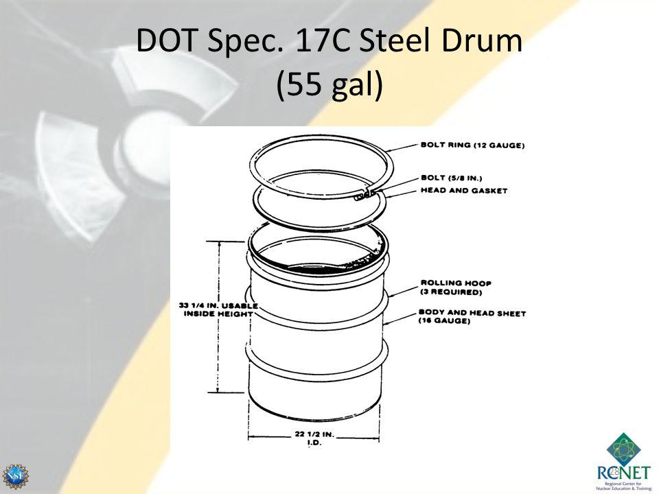 DOT Spec. 17C Steel Drum (55 gal) 28