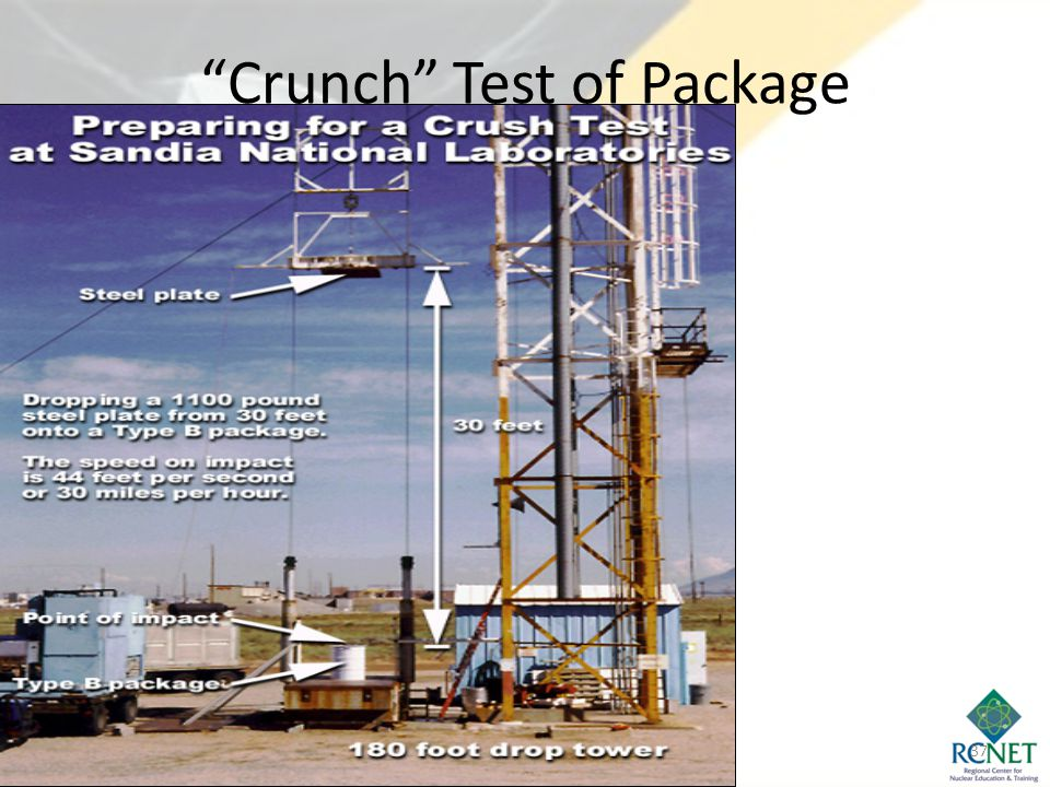 """""""Crunch"""" Test of Package 37"""