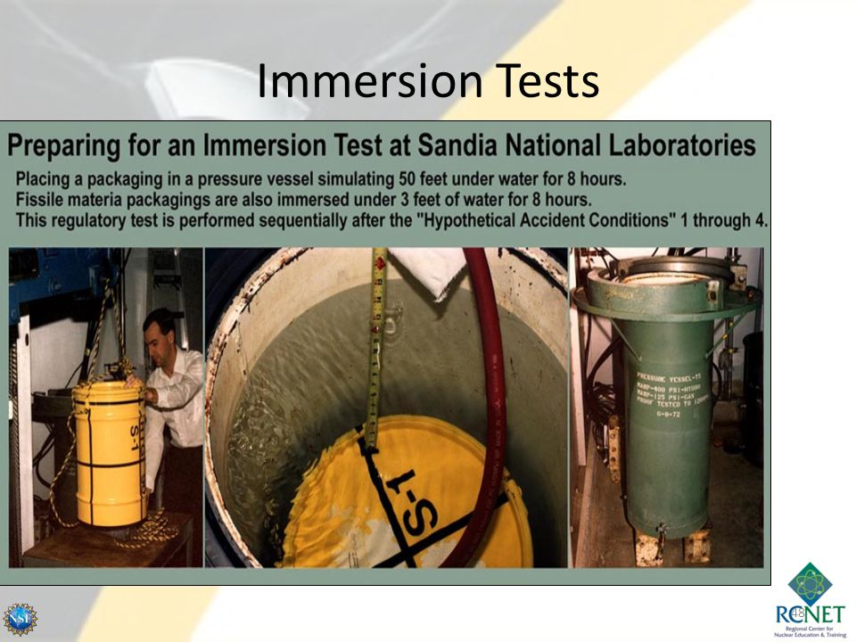 Immersion Tests 48