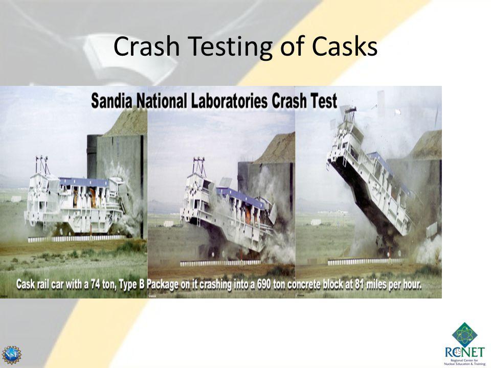 Crash Testing of Casks 49