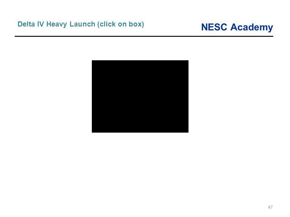 NESC Academy 47 Delta IV Heavy Launch (click on box)