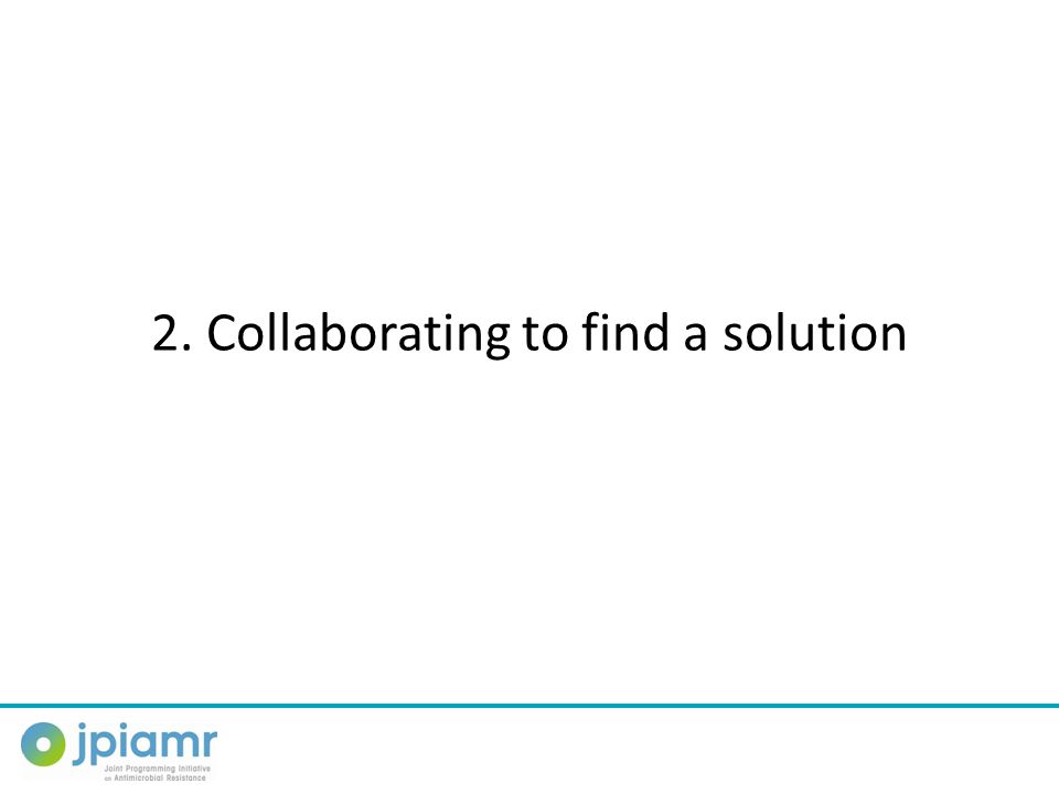 2. Collaborating to find a solution