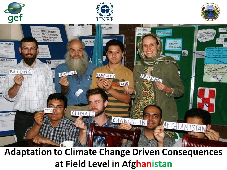 Adaptation to Climate Change Driven Consequences at Field Level in Afghanistan