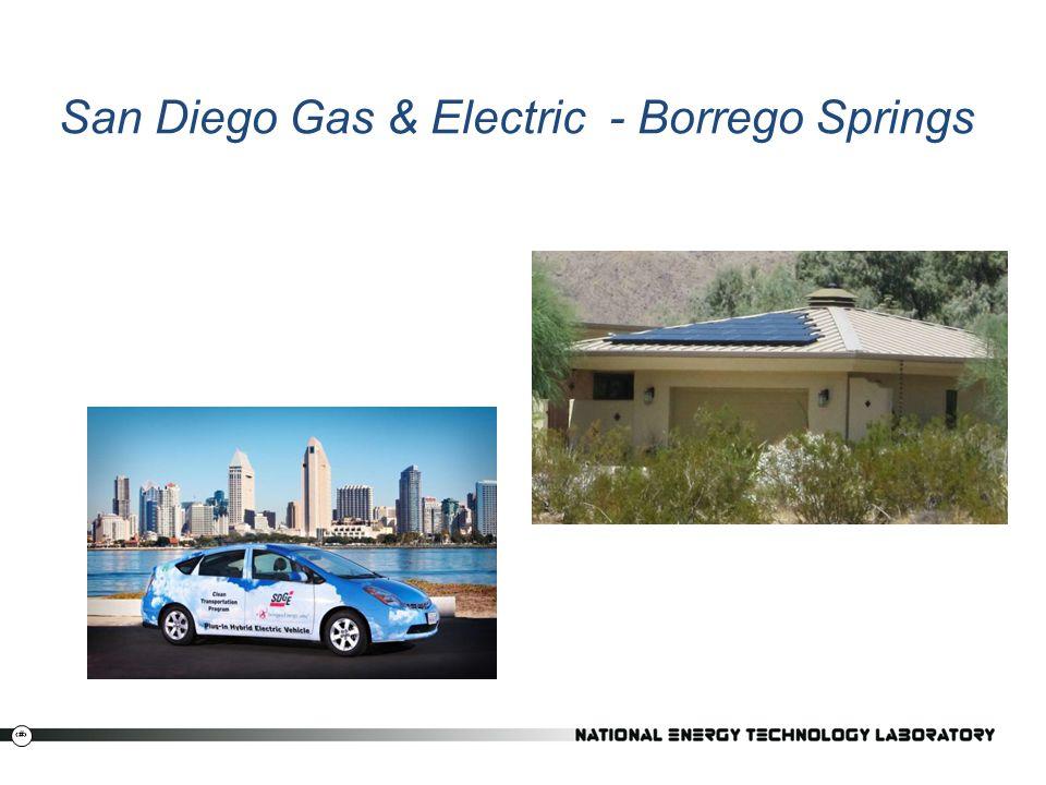 21 San Diego Gas & Electric - Borrego Springs