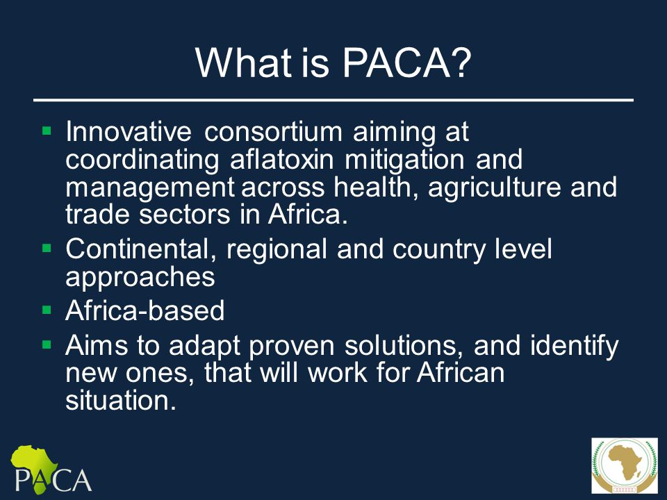 What is PACA.