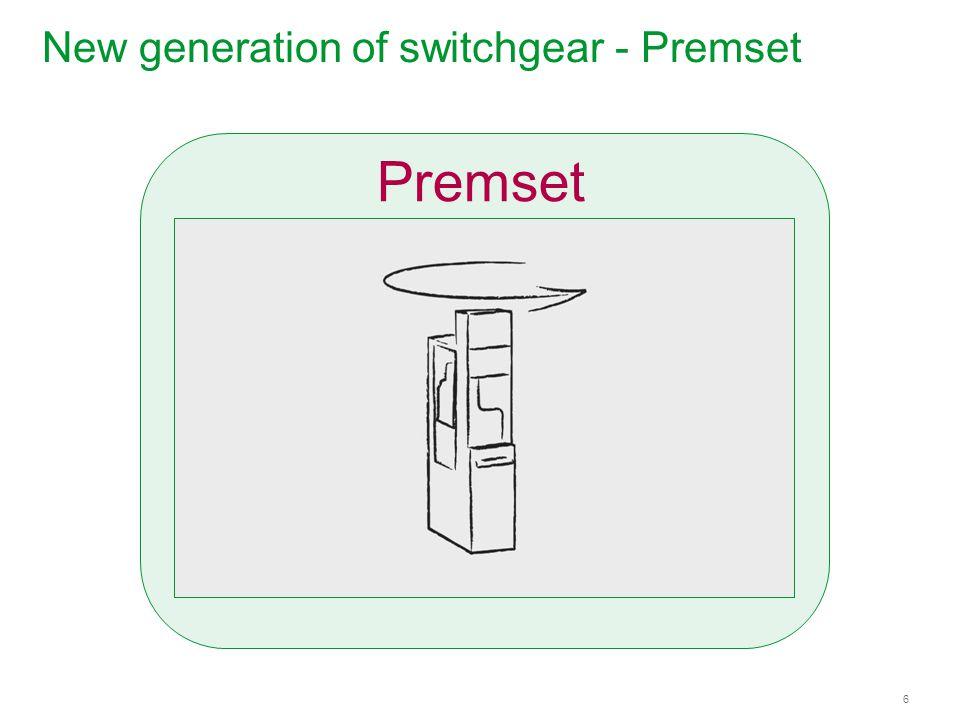 Schneider Electric 6 - Energy – Premset – Weili Ding - Sep 2013 New generation of switchgear - Premset Premset