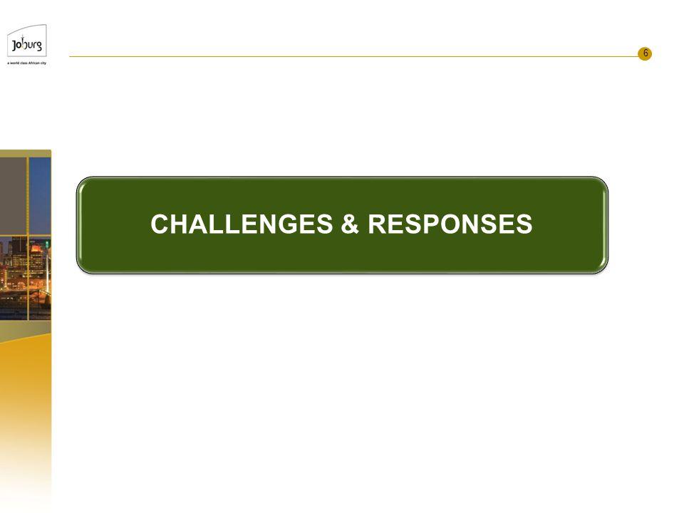 6 CHALLENGES & RESPONSES