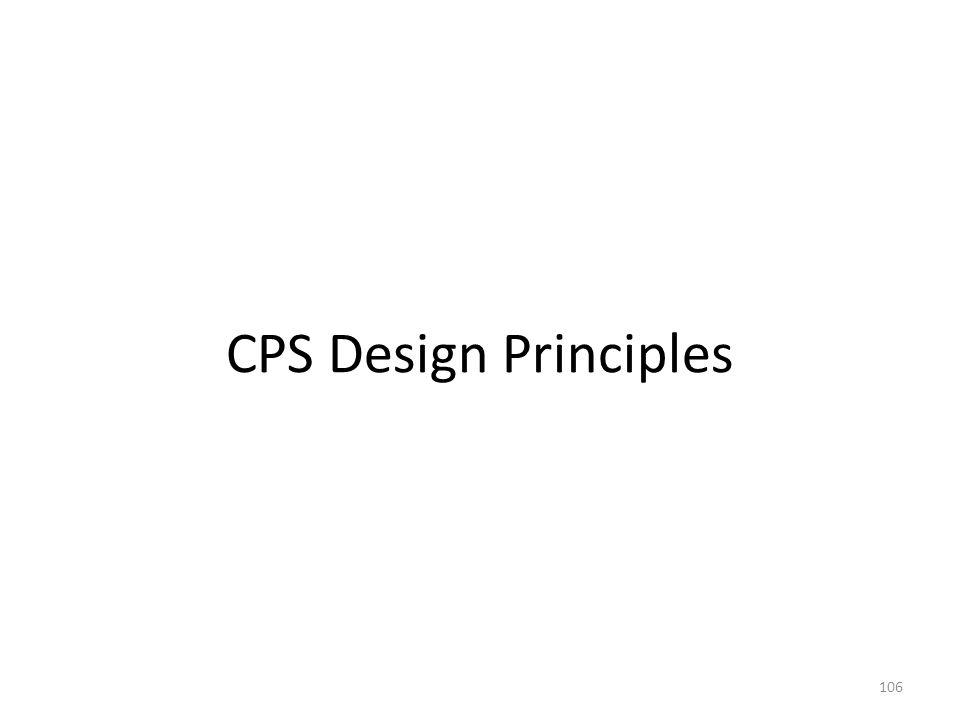 CPS Design Principles 106