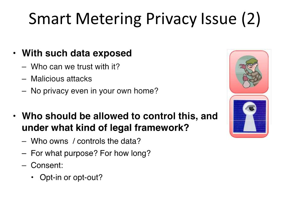 Smart Metering Privacy Issue (2)