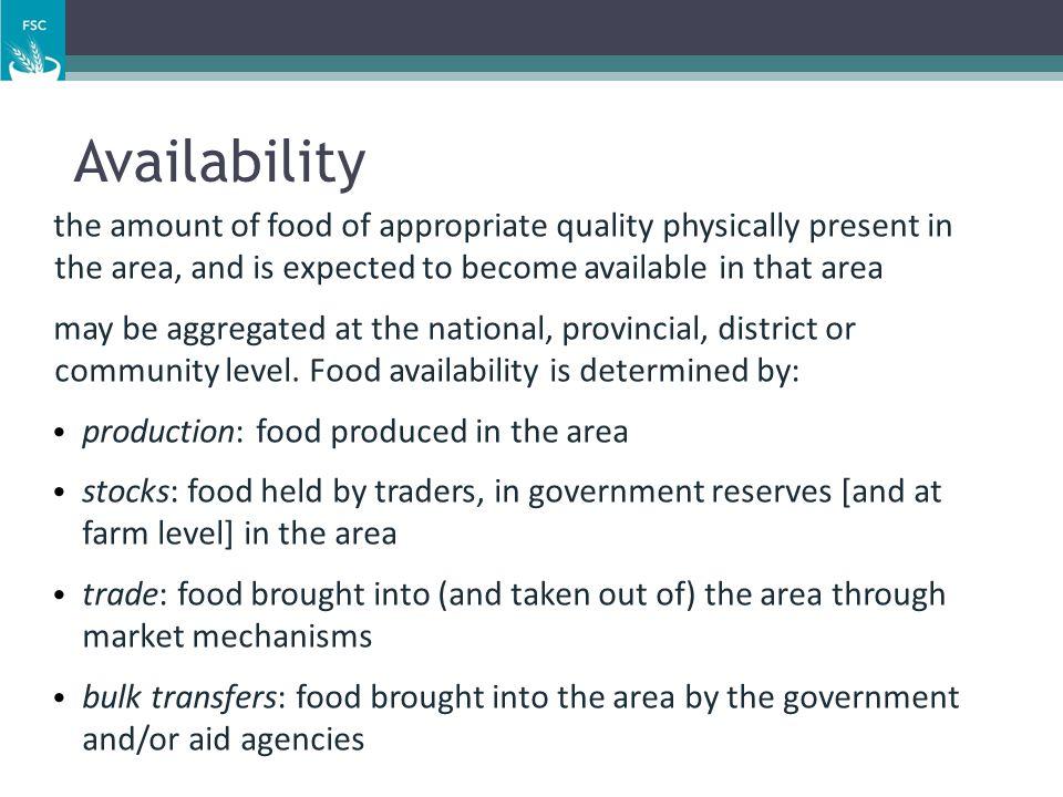 Food & Nutrition Security Conceptual Framework: Key Concepts   Livelihoods   Food security   Nutrition security