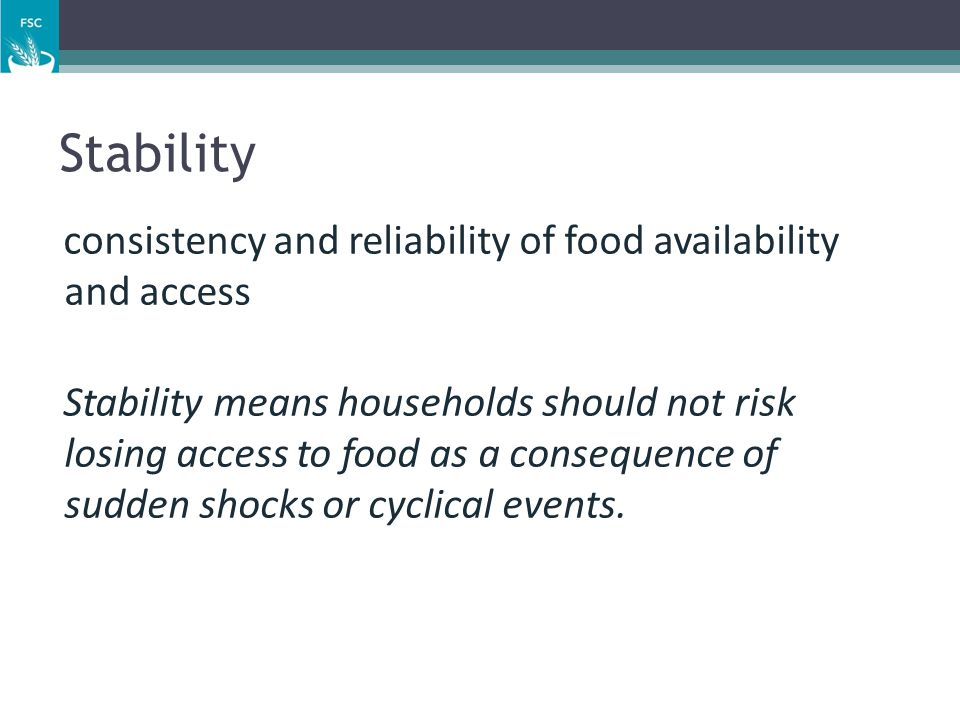 19 Conceptual Framework: levels of analysis (1) Basic causes: structural factors that establish the context in which malnutrition and food insecurity exist