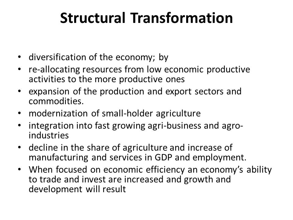Structural reforms come in different forms, shapes and effects in different societies.