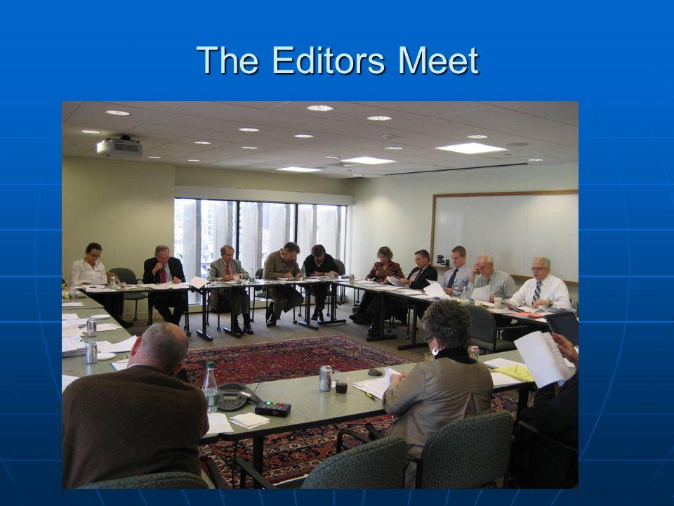 The Editors Meet