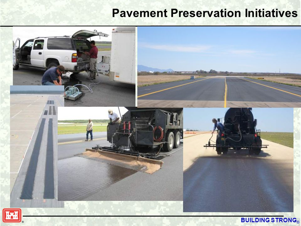 BUILDING STRONG ® Pavement Preservation Initiatives