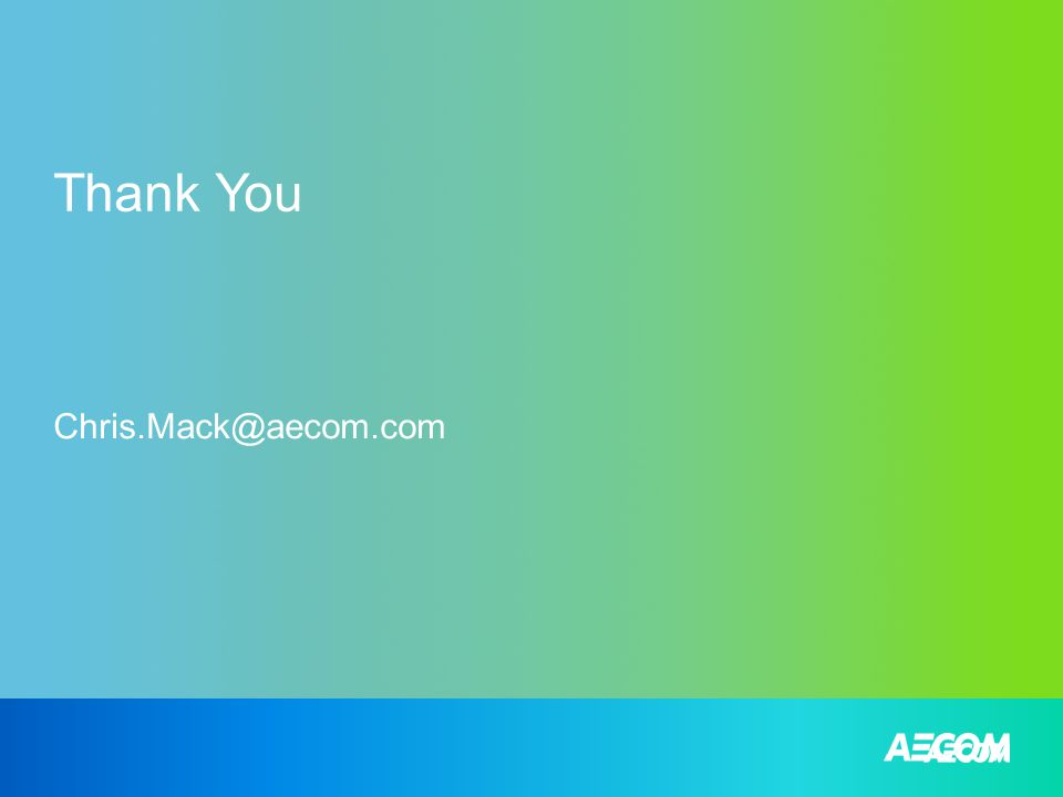 Thank You Chris.Mack@aecom.com