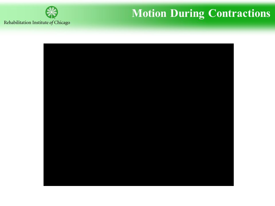 Motion During Contractions