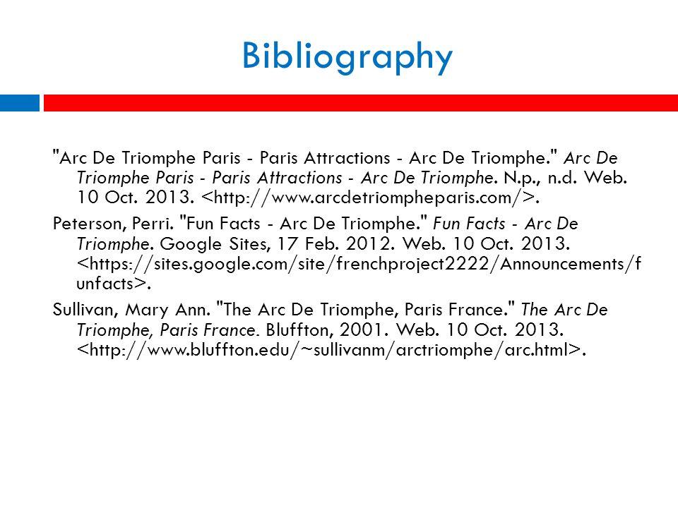 Bibliography Arc De Triomphe Paris - Paris Attractions - Arc De Triomphe. Arc De Triomphe Paris - Paris Attractions - Arc De Triomphe.