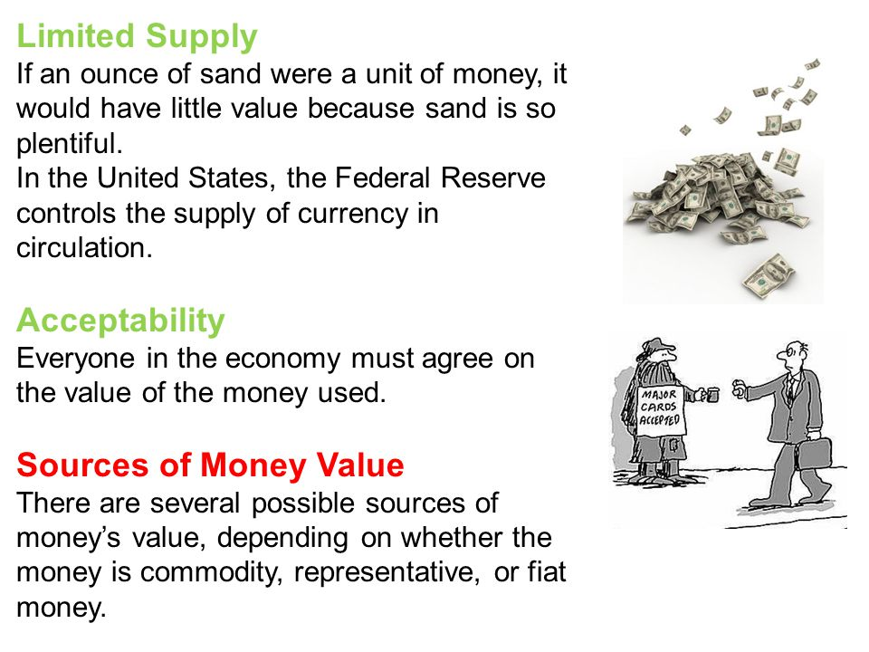 Commodity Money Commodity money - Objects that have value in themselves and that are also used as money.