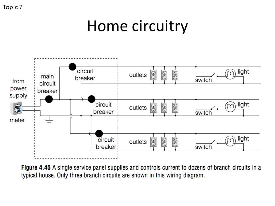 Home circuitry Topic 7