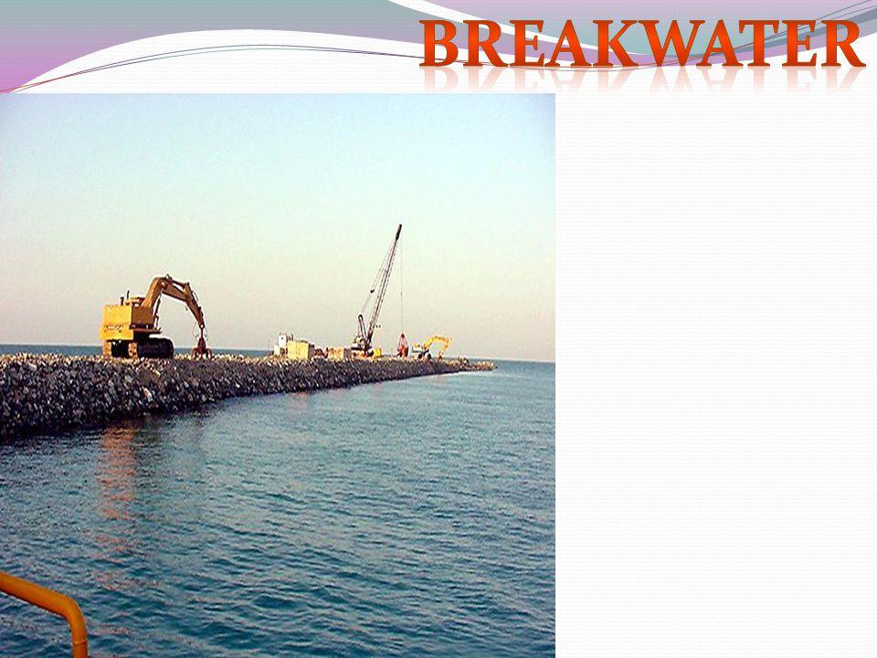 Breakwater required 5.5 million cu.