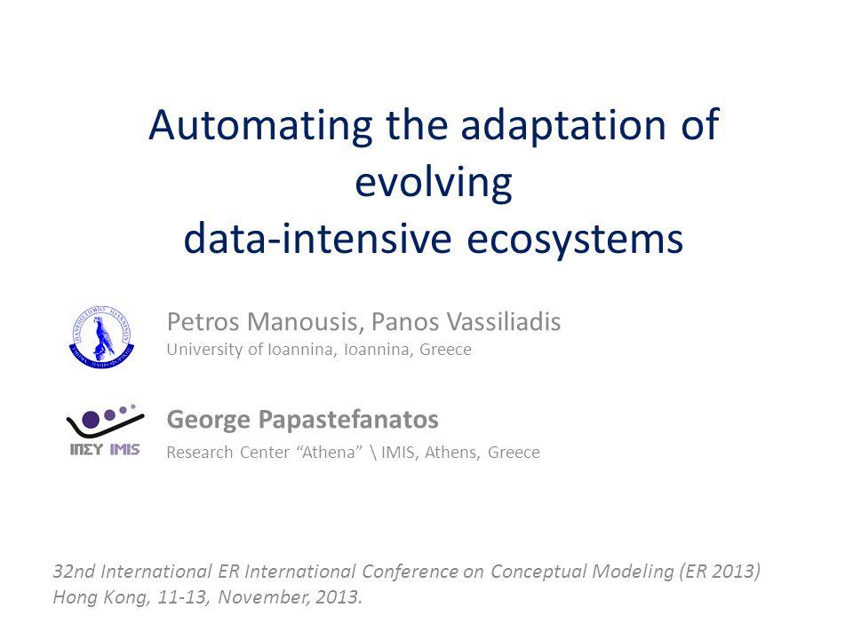 Inter-Module Level Propagation ER 2013 http://www.cs.uoi.gr/~pvassil/projects/hecataeus/ http://www.cs.uoi.gr/~pmanousi/publications/2013_ER/ 22 Add Exam Year 1