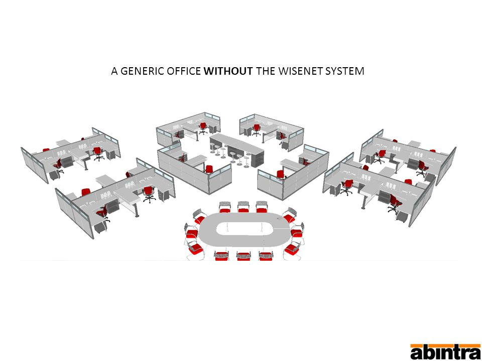A GENERIC OFFICE WITHOUT THE WISENET SYSTEM