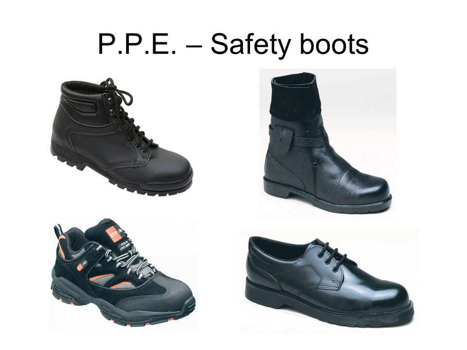 P.P.E. – Safety boots