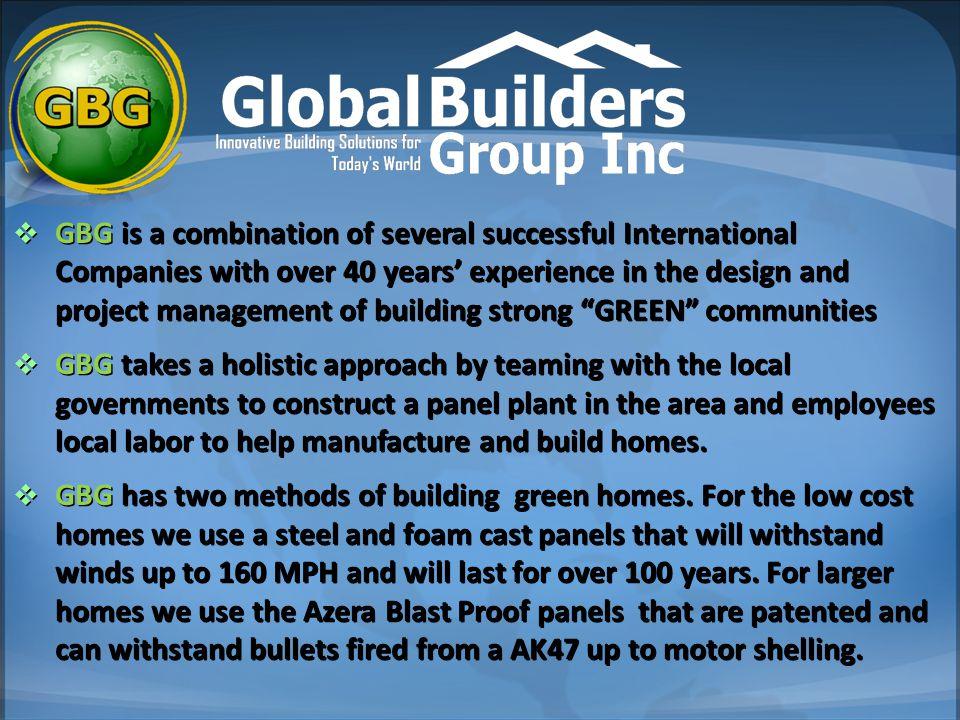 GBG Steel Home Design