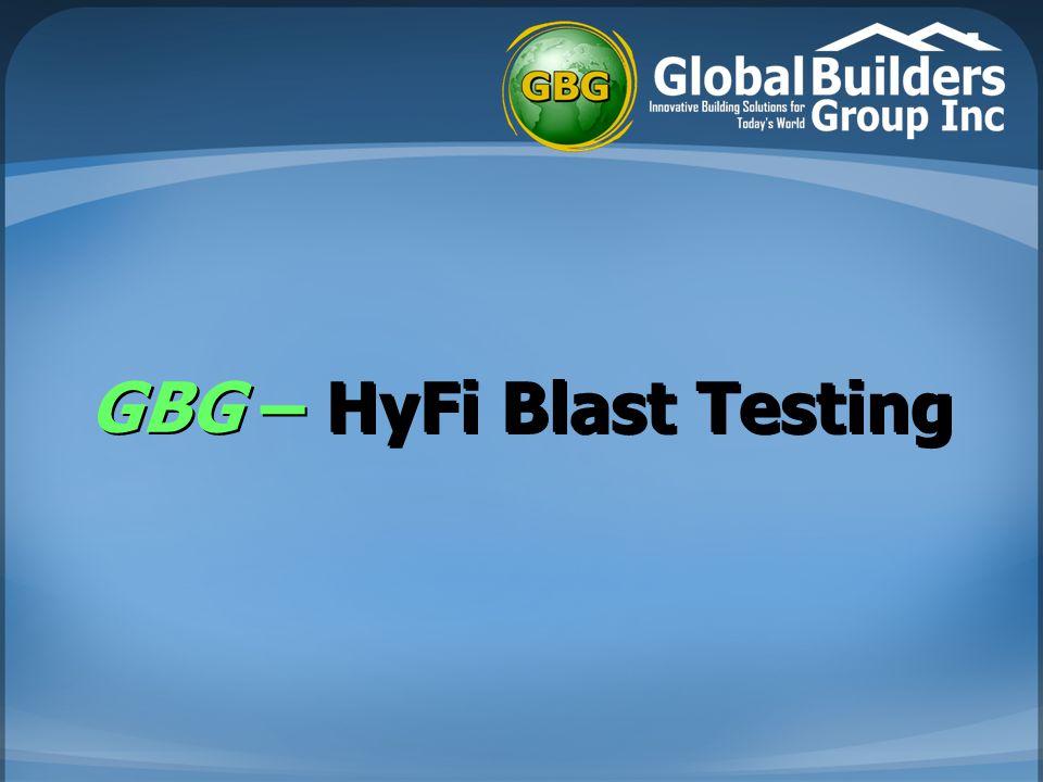 GBG – HyFi Blast Testing