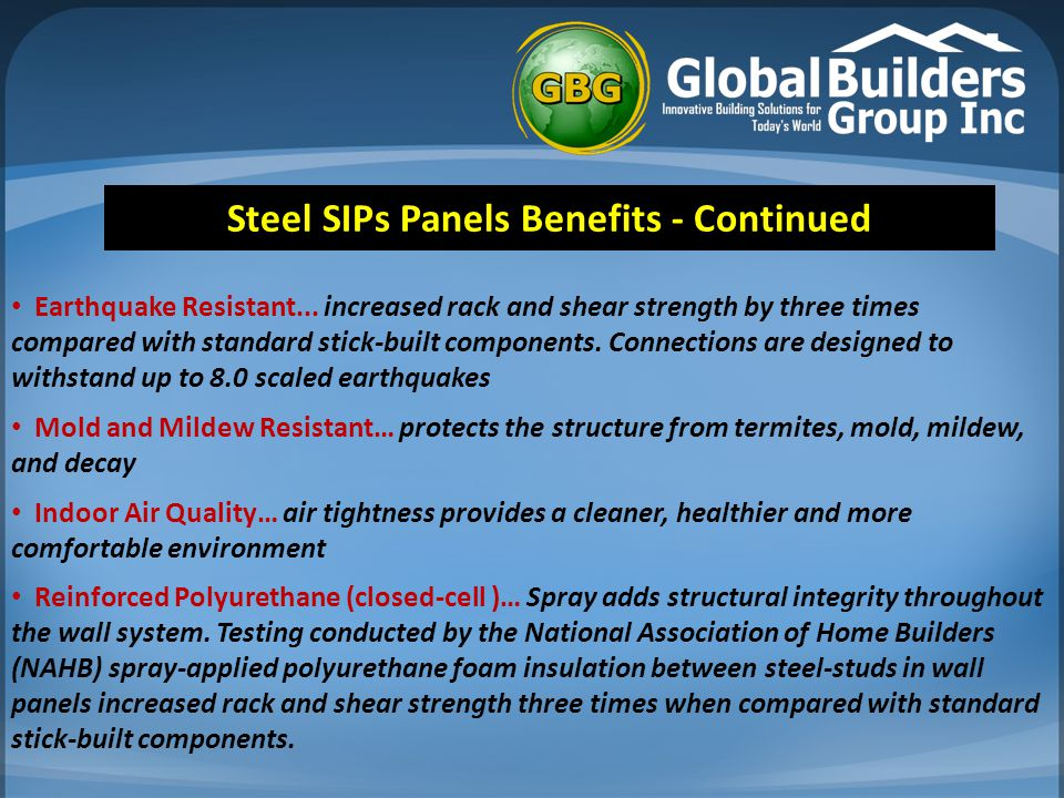 Steel SIPS VS Cement Construction