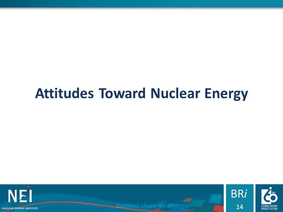 Attitudes Toward Nuclear Energy BRi 14