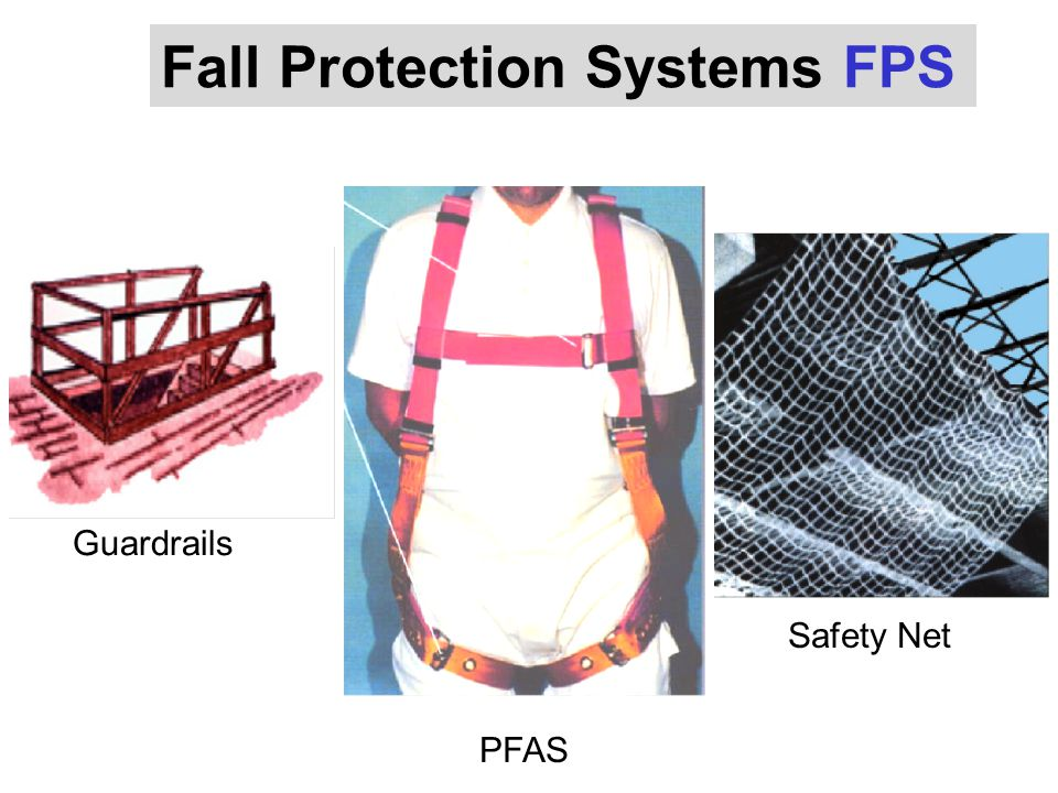 Guardrails PFAS Safety Net Fall Protection Systems FPS