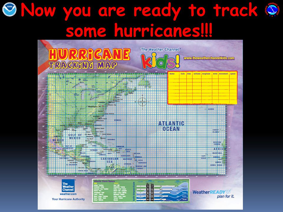 Now you are ready to track some hurricanes!!!