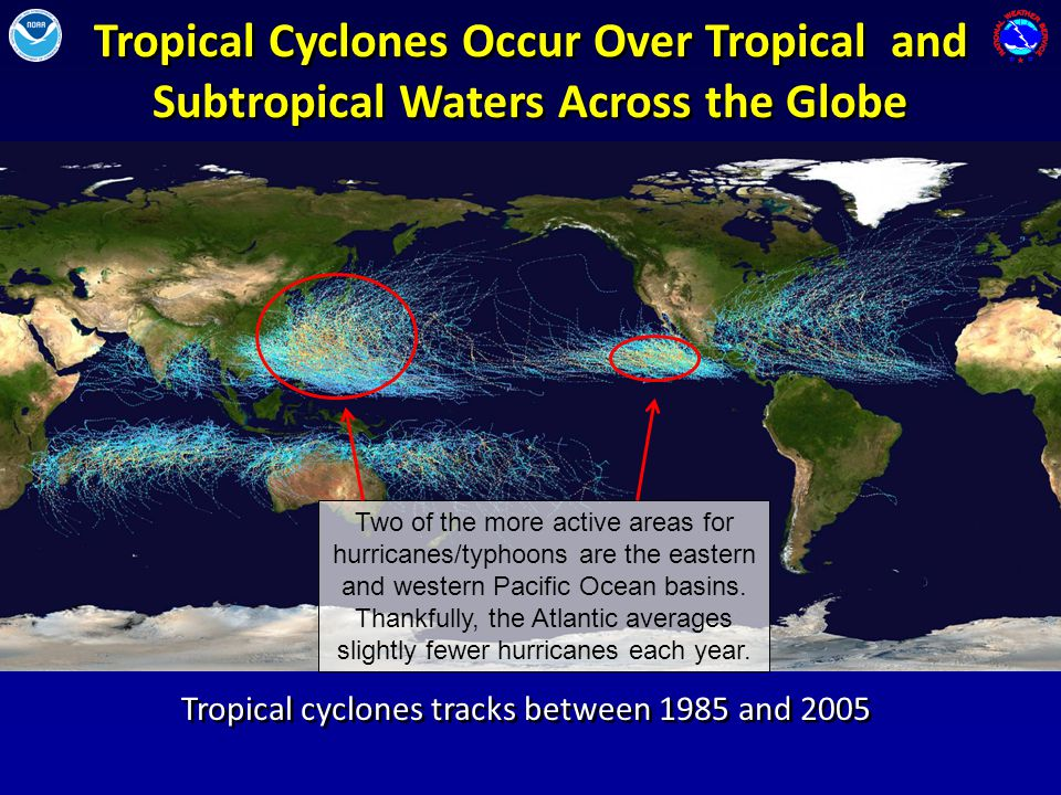 South Florida and the National Hurricane Center is often in the path of a hurricanes.