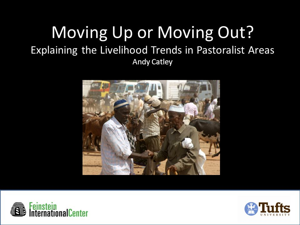 Moving Up or Moving Out Explaining the Livelihood Trends in Pastoralist Areas Andy Catley