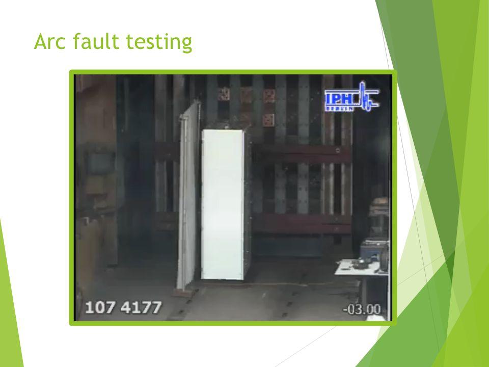 Arc fault testing