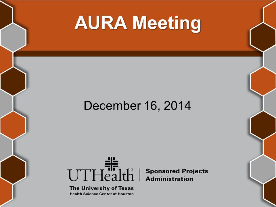 AURA Meeting December 16, 2014