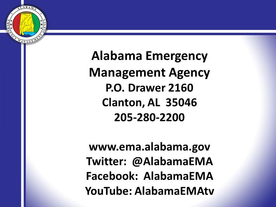 Alabama Emergency Management Agency P.O.