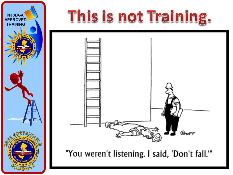 NJSBGA APPROVED TRAINING
