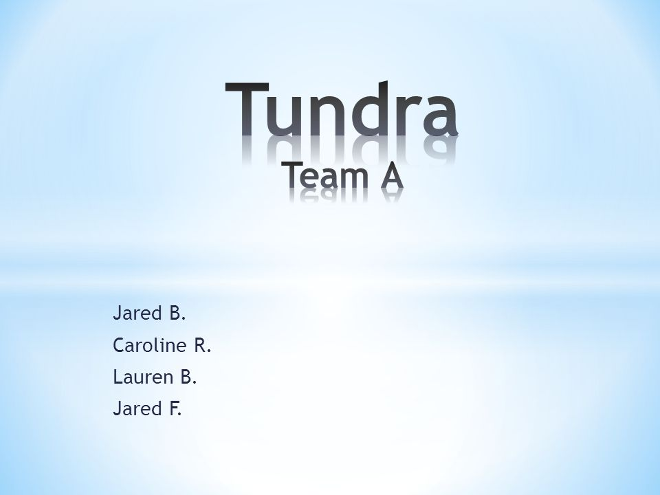 * Location-Jared Beck * Climate-Jared Beck * Plants and adaptations- Lauren Brown * Animals and adaptation-Caroline Roberts * Environmental issues-Jared Ford