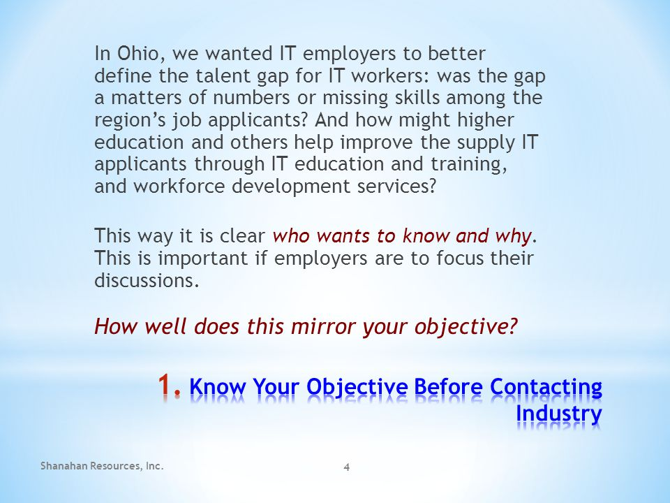Ohio Skills Bank Provided the Initiative for Why Now.