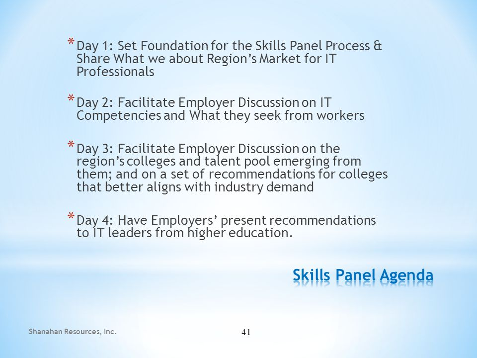 Recommendation #1: Align or augment curricula with current business/job market needs * Understand the difference between market segments, i.e.
